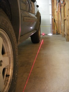Laser String Alignment