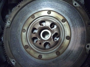 Trashed Dual Mass Flywheel
