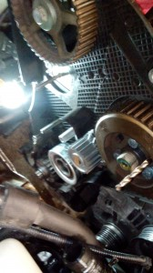 TDI Timing Belt Removed